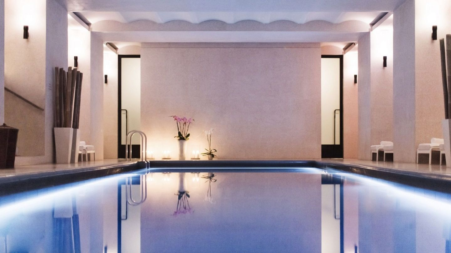 akasha luxury spa gym central london hotel cafe royal