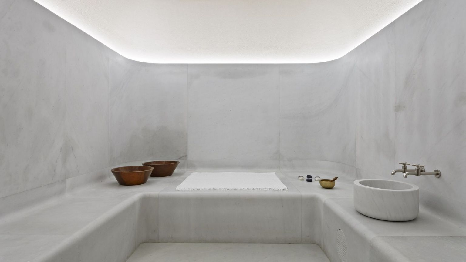 Akasha Holistic Wellbeing Centre at Hotel Cafe Royal hammam steamroom