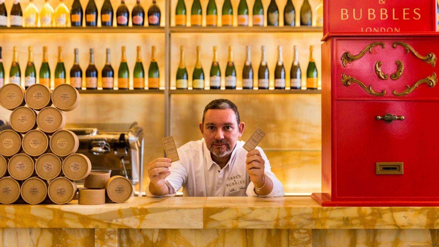 Albert Adria Cakes & Bubbles Regent Street London