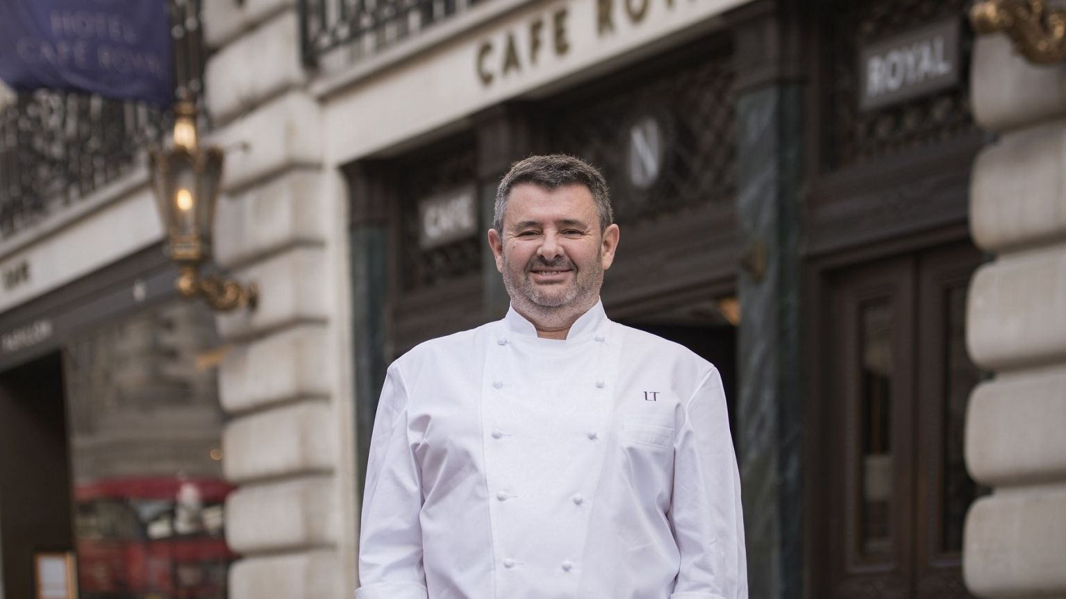 chef laurent tourondel at hotel cafe royal london