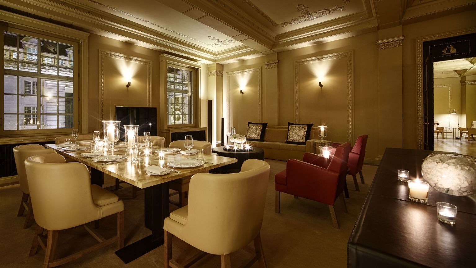 presidential suite hotel cafe royal london