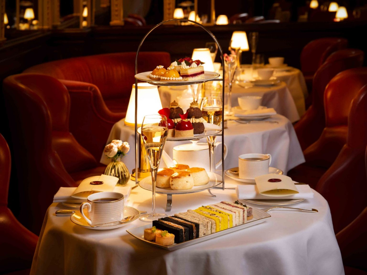 Luxury Afternoon Tea London Hotel Café Royal
