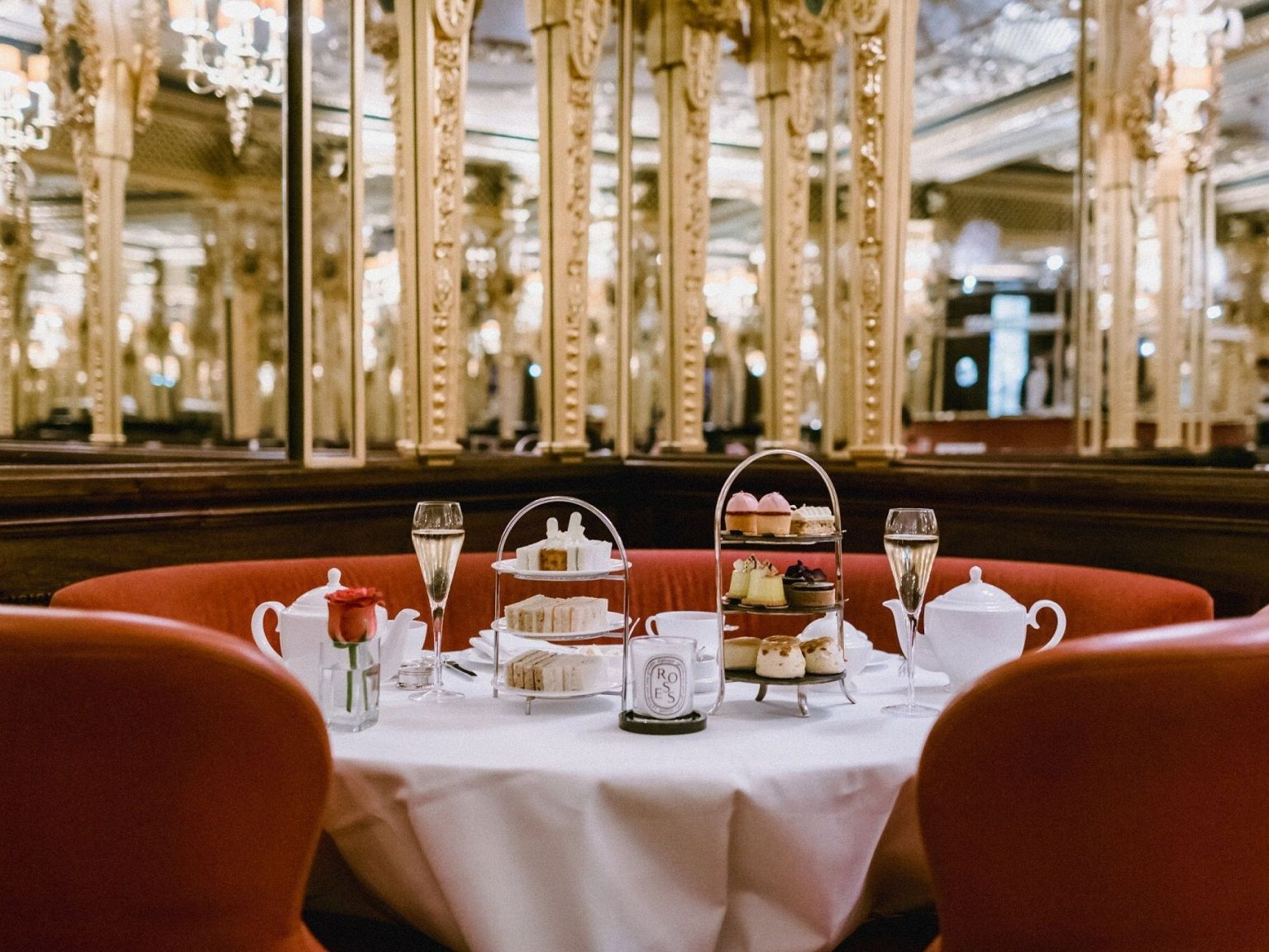hotel cafe royal luxury diptyque afternooon tea