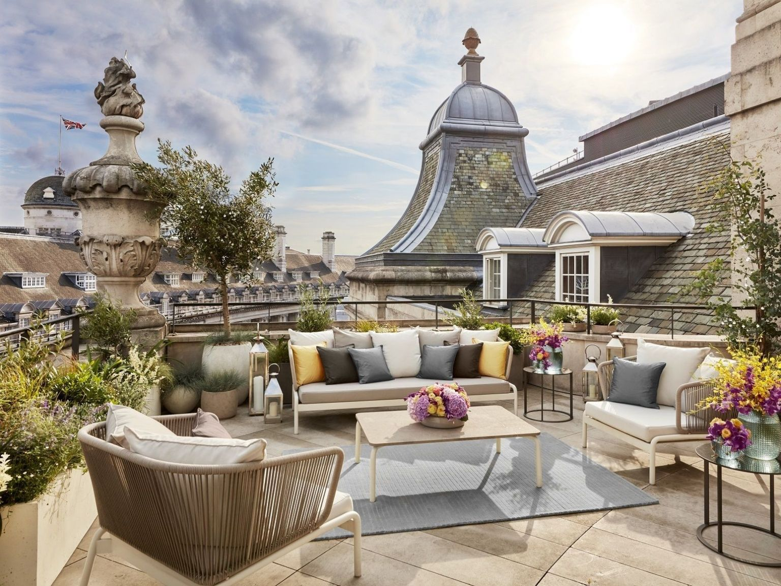 dome penthouse hotel cafe royal london terrace view
