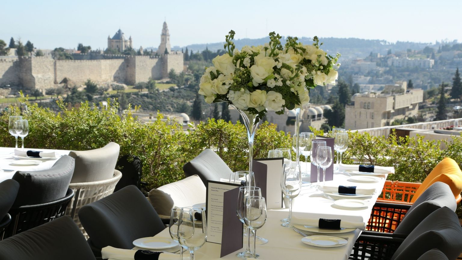 The Brit Ceremony in Jerusalem Mamilla Hotel