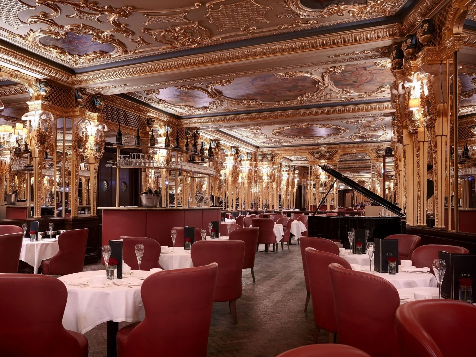 oscar wilde lounge hotel cafe royal london afternoon tea