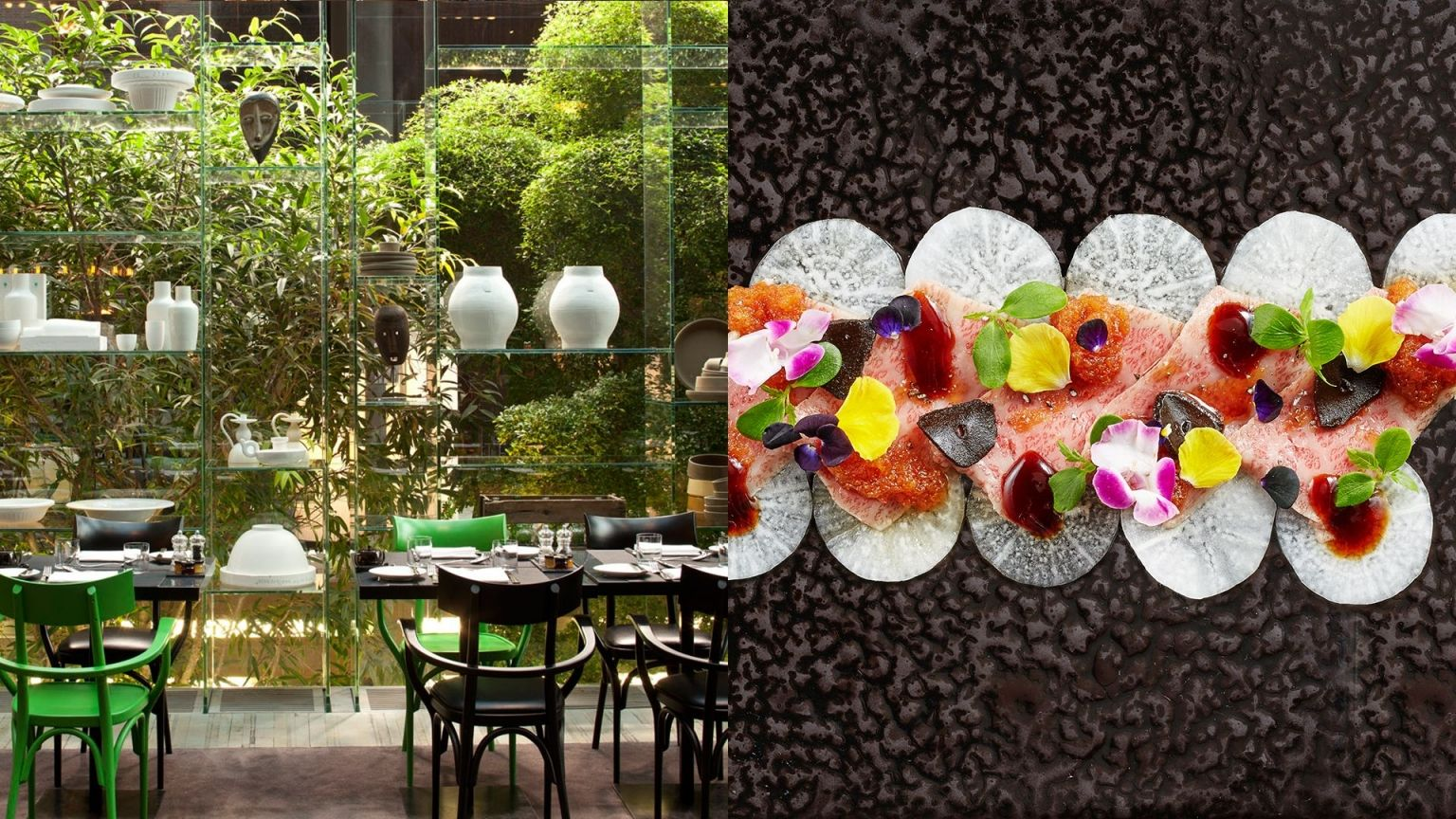 Restaurants Conservatorium hotel in Amsterdam