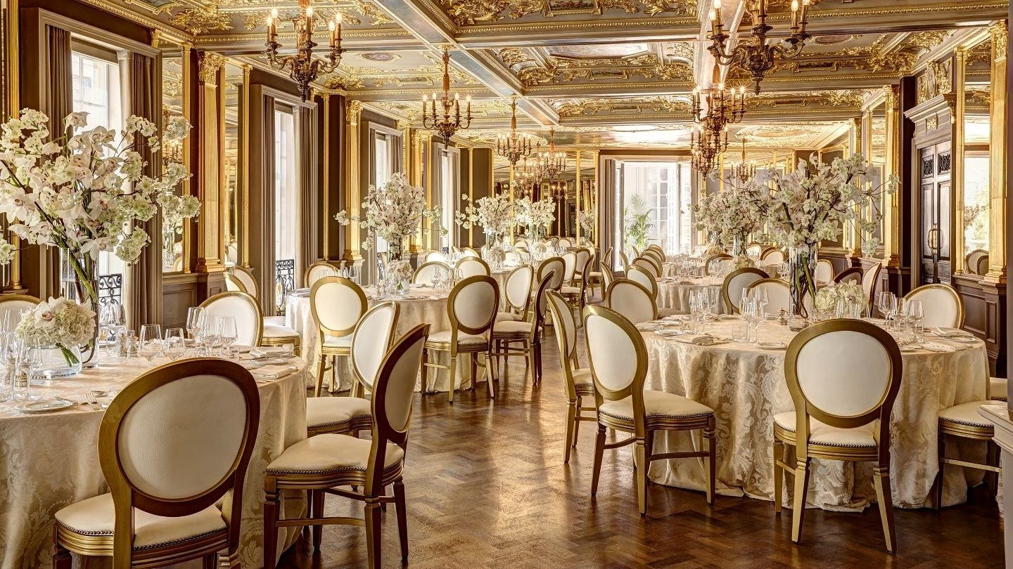events central london hotel cafe royal luxury wedding venue pompadour ballroom