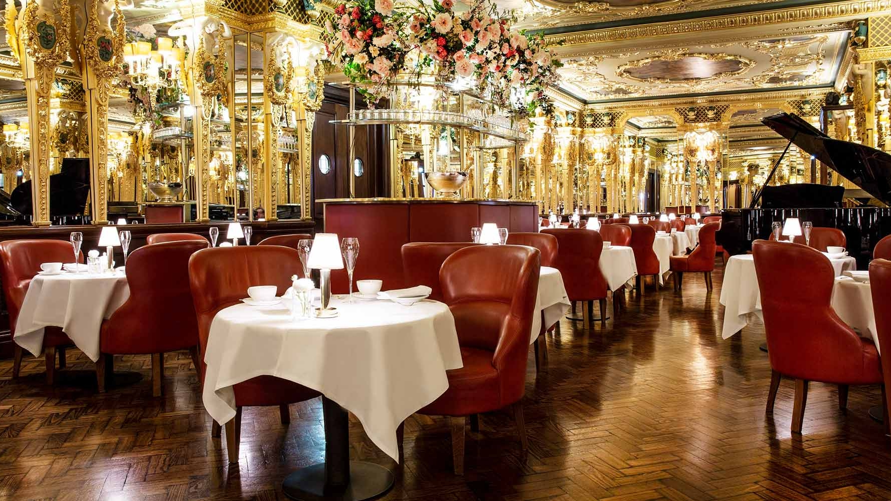 oscar wilde lounge afternoon tea hotel cafe royal london