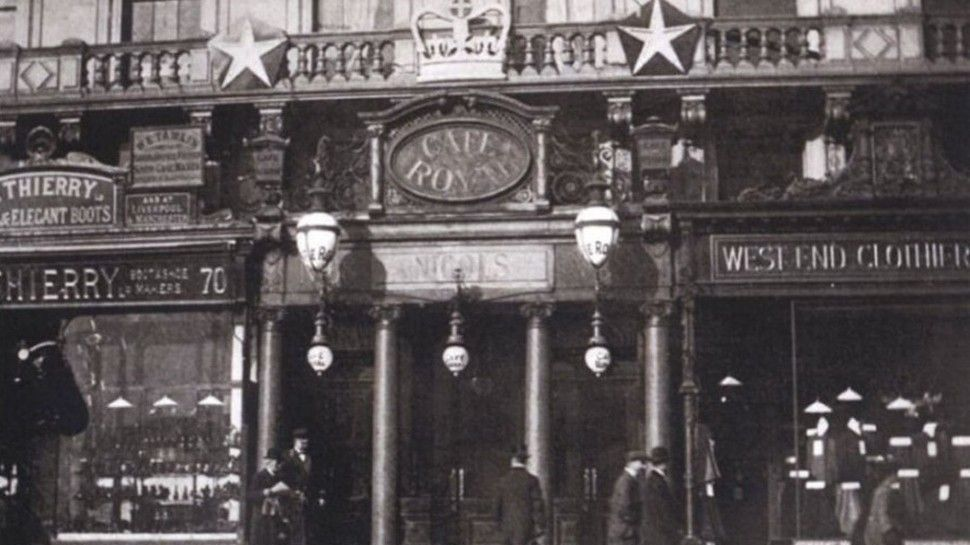 history of Hotel Cafe Royal