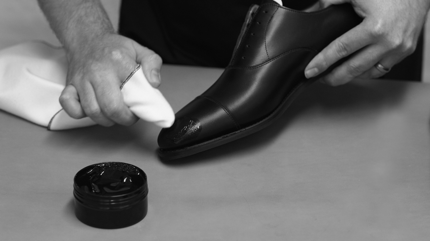 John Lobb shoe care service hotel cafe royal london