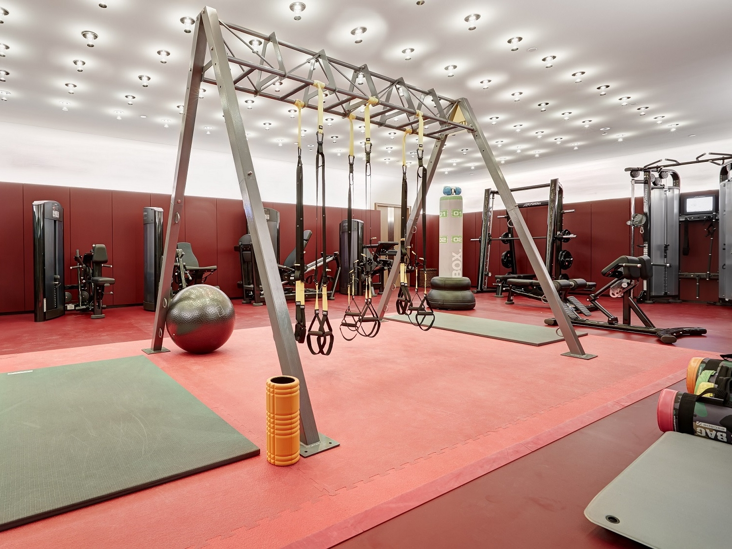 akasha holistic wellbeing centre gym hotel cafe royal londres