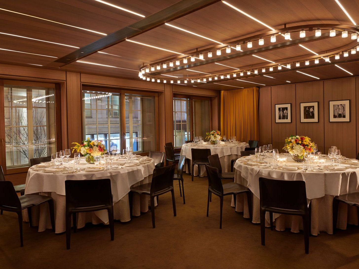 soho room private dining dinner set up hotel cafe royal regent street london