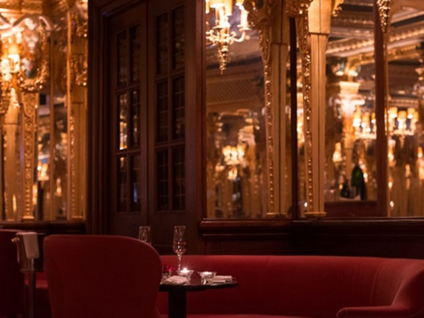 dining restaurants bars hotel cafe royal regent street london