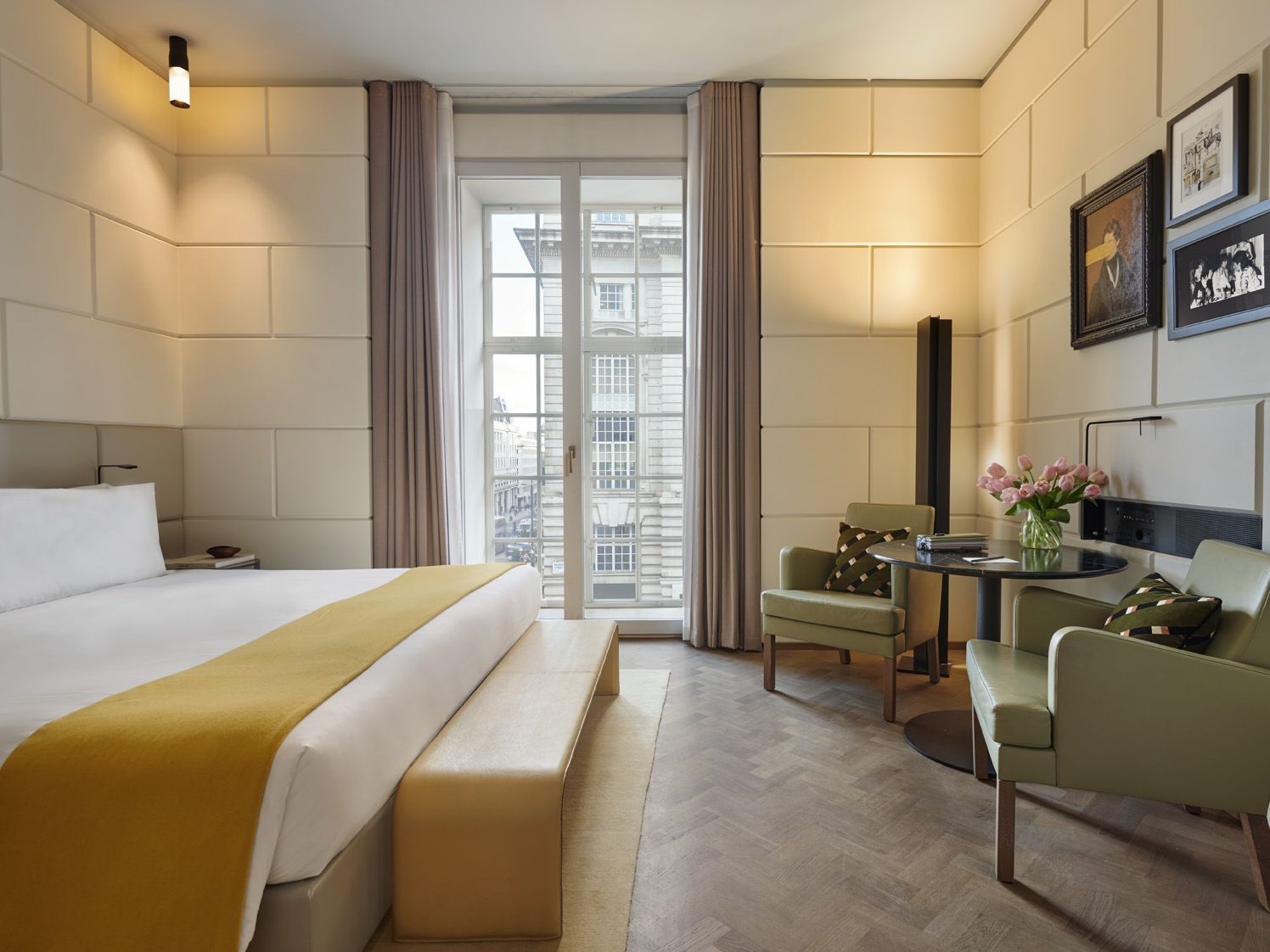 Grand Superior Guestroom Hotel Cafe Royal London