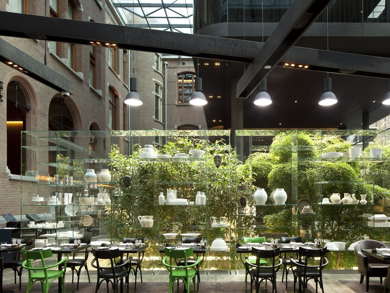 Brasserie in Amsterdam at Conservatorium hotel