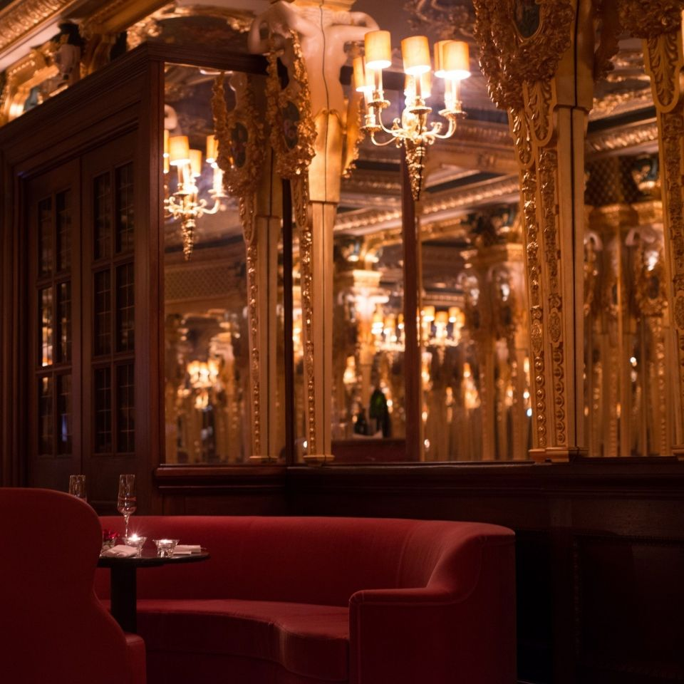 Oscar wilde lounge hotel cafe royal londres