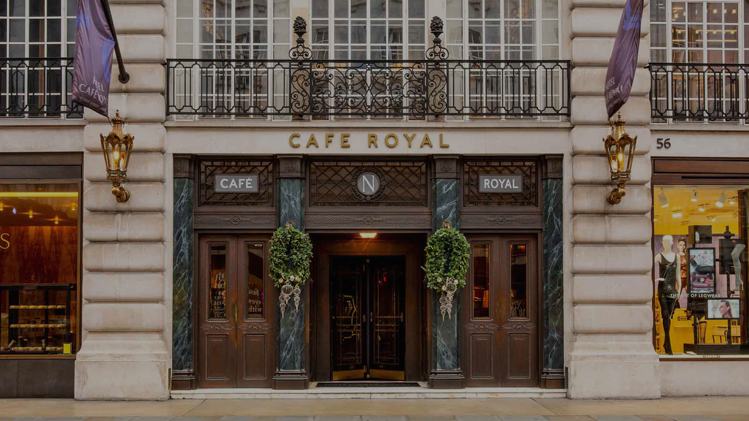 christmas hotel cafe royal london